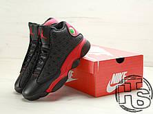 Мужские кроссовки Air Jordan 13 Retro Bred Black/Varsity Red 414571-010, фото 2