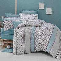 Двуспальное постельное белье с простыню на резинке 160/200/34 - Моника, бязь
