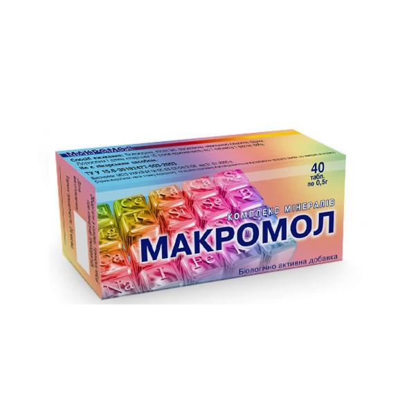 """Минеральный комплекс """"Макромол"""", №80 Европлюс"""