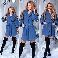 Женское теплое пальто на синтепоне
