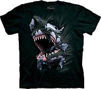 3D футболка мужская The Mountain р.S 46-48 RU футболки мужские с 3д принтом рисунком (Акулий прорыв)