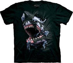 3D футболка мужская The Mountain р.S 46-48 RU футболки мужские с 3д рисунком (Акулий прорыв)