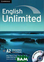 Алекс Тилбэри English Unlimited. Elementary Coursebook (With e-Portfolio DVD-Rom)