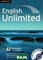 Алекс Тилбэри English Unlimited. Elementary Coursebook (With e-Portfolio DVD-Rom)