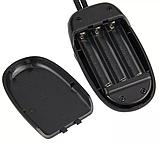 Лампа-светильник для чтения с клипсой 4 LED черный, фото 5