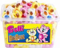 Жевательные конфеты Trolli Медвежата, 1200г