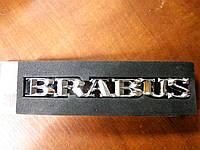 Надпись BRABUS металл  158х20 мм