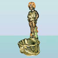 Декоративный комнатный напольный фонтан для дома Писающий мальчик