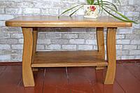 Журнальний столик з натурального дерева дуб (Журнальный столик из натурального деревадуб)