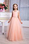 Детское нарядное выпускное платье для девочки D963