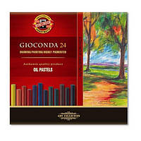 Крейда-пастель олійна художня Gioconda 24 кольору (8354)