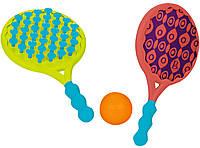 Игровой набор ПЛЯЖНЫЙ ТЕННИС: ДВА-В-ОДНОМ ракетки с присосками, мячик Battat (BX1526Z)