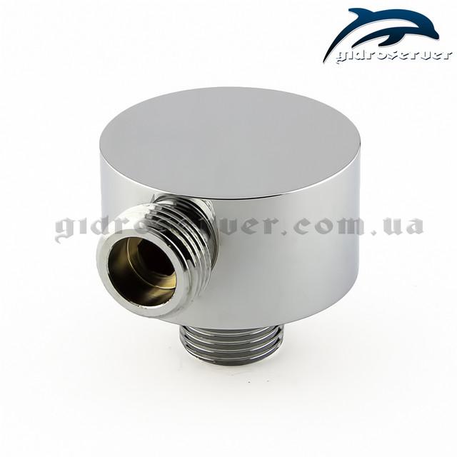 Шланговое подключение для лейки ручного душа UD-10 выполнено из латуни.