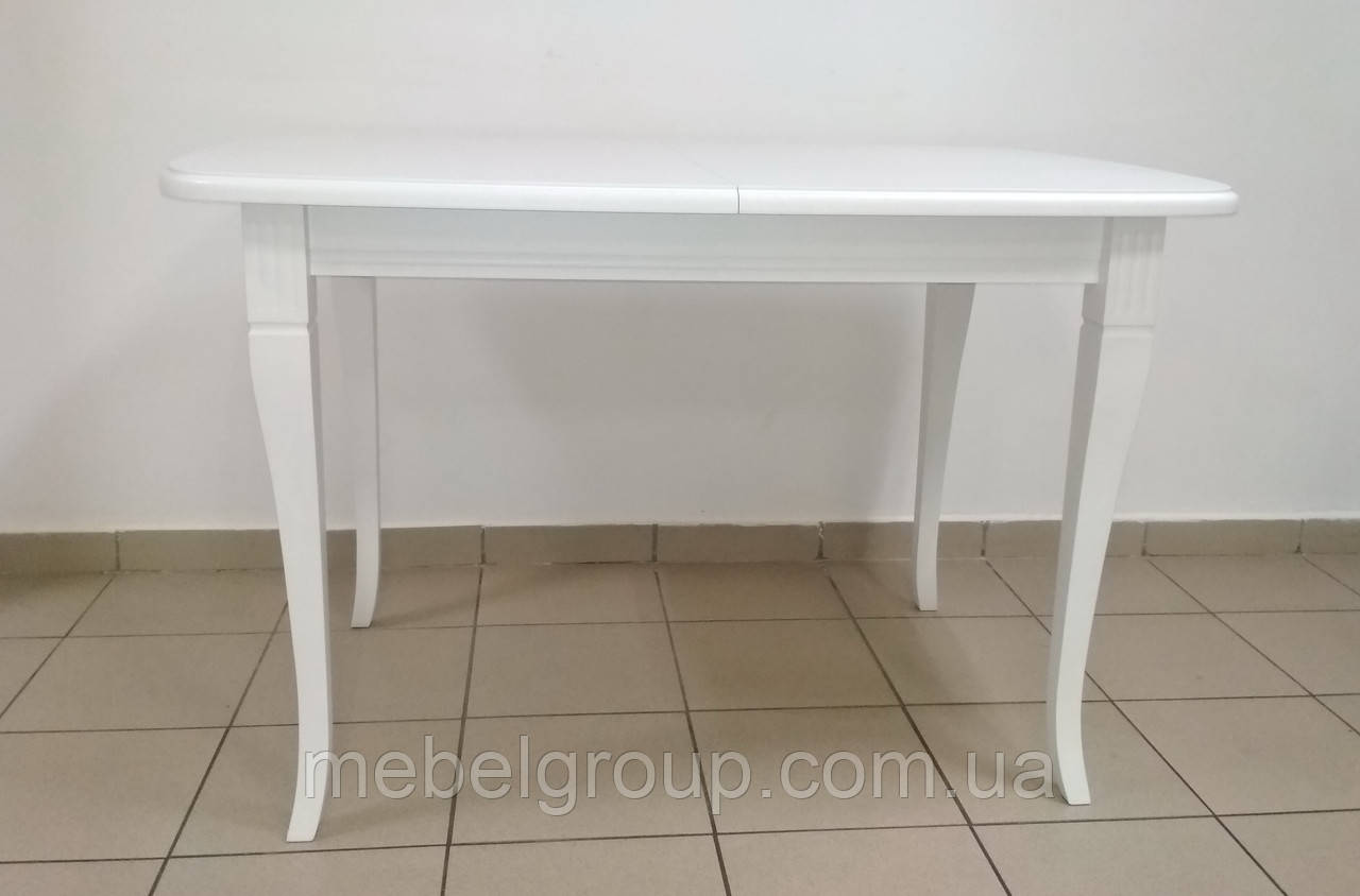 Деревянный раздвижной стол Кардинал 120-160x80