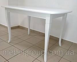 Деревянный раздвижной стол Кардинал 120-160x80, фото 2
