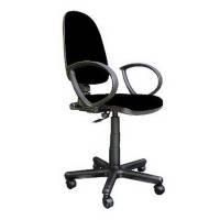 Кресла офисные для персонала нс GTP HC-11 черный Jupiter 62х46х85-106см пласт пiдлок, ткань-Cagliari