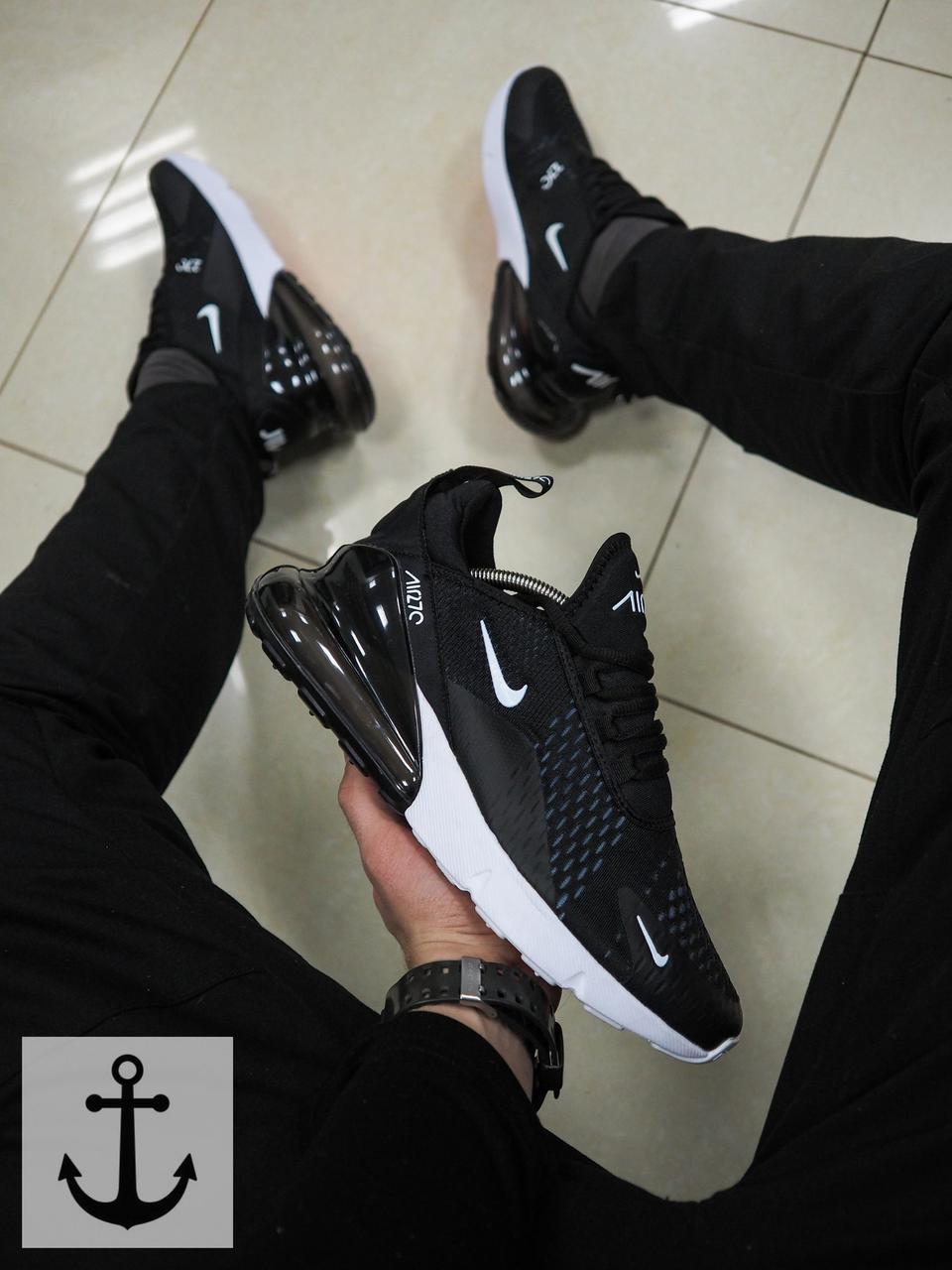 7d02dd1f Мужские кроссовки Nike Air Max 270 (ТОП РЕПЛИКА ААА+), цена 1 349,10 ...
