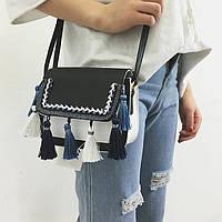 Женская сумочка с китицами