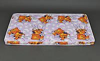 Детский ортопедический 2-х слойный матрас для девочки Baby Comfort+ 120х60х6 см (сиреневый)