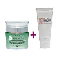 Набор Dermaheal Vitalizing Cream  + Dr. CYJ Less Less Serum 50мл