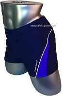 Мужские плавки для купания большого размера Atlantic Beach 79128-3 синий с фиолетовым
