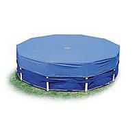 Тент 28032 для круглых каркасных бассейнов, диаметр 457см, в кор-ке, 36-30,5-12см