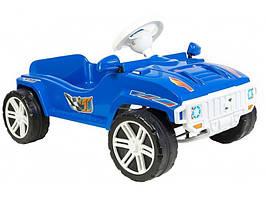 Машинка для катання ПЕДАЛЬНА синя ОРІОН 792