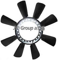 Крыльчатка вентилятора audi a4b5/a6c5/a8/skoda superb/passat b5 2.4-2.8 (JP GROUP 1114900300)