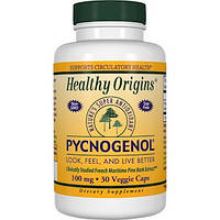 Healthy Origins, Пикногенол, 100 мг, 30 вегетарианских капсул
