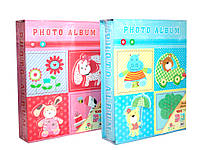 Фотоальбом детский 100 фото, 10х15, в коробке, 2 вида