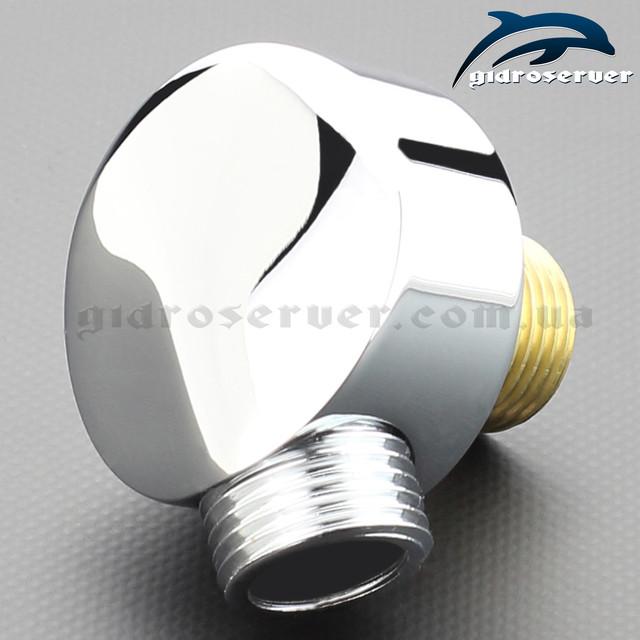 Подключение для душевой лейки ручного душа UD-04 с размером соединительной резьбы 1/2 дюйма.