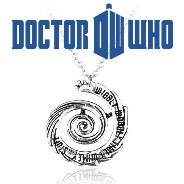 Кулон wibbly wobbly timey wimey Доктор Кто Doctor Who