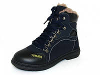 Детская зимняя обувь ботинки Шалунишка: 100-528. С 32 по 37размер