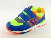 Детская обувь кроссовки Clibbe:F-565 Солат+жолт. С 31р по 36р.
