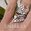 Серебряное кольцо без камней, фото 4