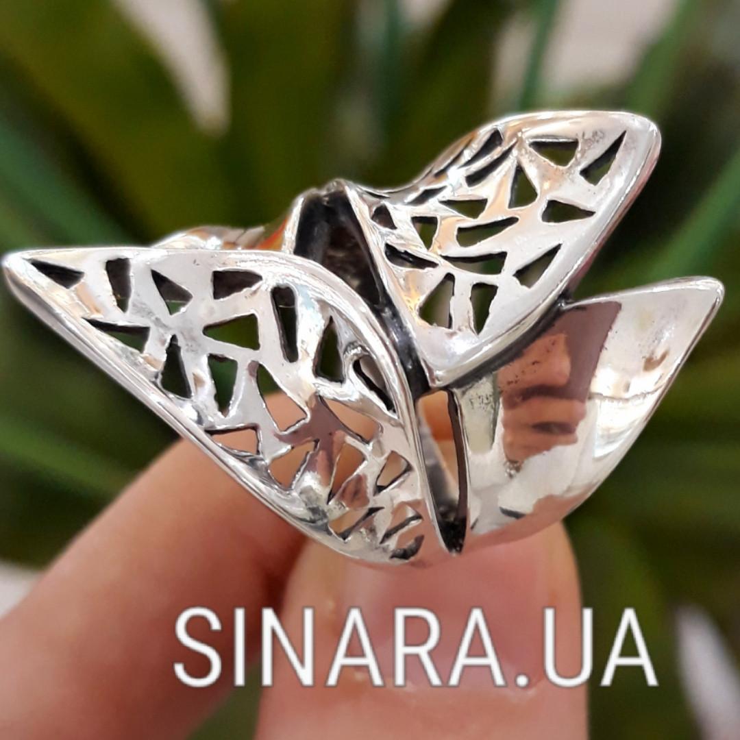 Серебряное кольцо без камней
