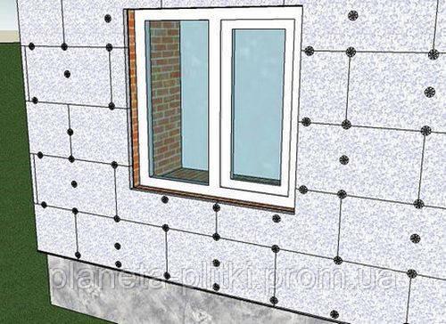 Внешняя теплоизоляция стен