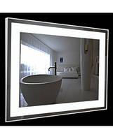 Зеркало Led 60*80 см со светодиодной подсветкой в алюминиевом профиле
