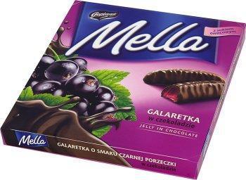 Конфеты шоколадные Galaretka Mella с соком черной смородины Goplana Польша 190г