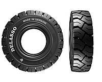 Шина цельнолитая Delasso R101_4.00-8 (Класс шины премиум) резина для вилочных погрузчиков