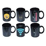 Чашка хамелеон Wi Fi 380 мл белая ( Оригинальный подарок ), фото 4