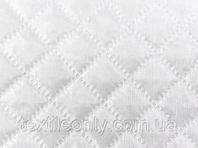 Підкладка нейлон на синтепоні колір білий квадрат 2х2