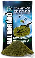 Прикормка Максимум зеленый Haldorado Топ медод фидер 0,8 кг, фото 1