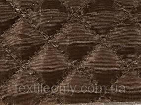 Підкладка нейлон на синтепоні колір коричневий квадрат 2х2