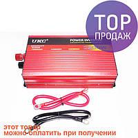 Преобразователь авто инвертор с Функцией плавного пуска UKC 12V-220V 2500 Вт с USB / Автотовары