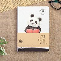 "Блокнот для творчества скетчбук ""Веселая панда"""