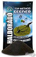 Прикормка Премиум Палтус Haldorado Топ медод фидер 0,8 кг