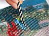"""Набор алмазной вышивки (мозаики) """"Открывая мир"""", фото 2"""