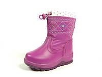 Детские зимние ботинки J&G:A-9160-9