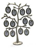 Фоторамка семейное древо на 12 фото лучший подарок